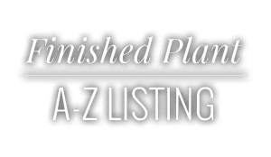 Finished Plant A-Z Listing