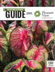 Pleasant View Gardens 2020 Retailer Landscaper Resource Guide